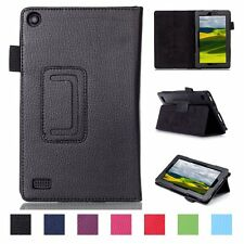 "New Magnetic Folio PU Leather Cover Case For Amazon Kindle Fire 7"" inch"
