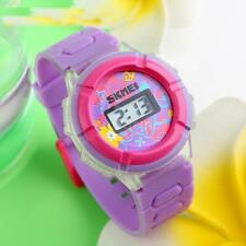 SKMEI Brand Kids Boys Girls Rubber Silicone Watch Digital Sports Wristwatch G6BE