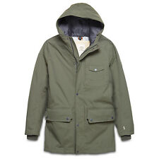 Mens Timberland Coat Khaki HyVent Rollins Mountain 2 in 1 Waterproof Parka GREEN