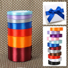 25 Yards 6-50mm Satin Ribbon Sewing Bow Gift DIY Craft Party Wedding Decorations
