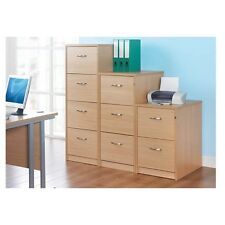 Wooden Filing Cabinets - Available in 5 Colours