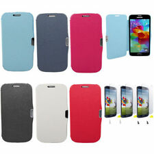 Samsung galaxy s4 mini GT-I9195 Faux leather Case Flip Protective Cover I9190