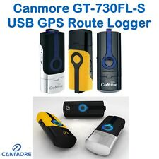 Canmore GT-730FL-S GPS USB Receiver&Route Logger USB Dongle SiRF IV Laptop/PC