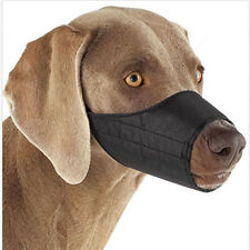 Mouth Cover Nylon Pet Dog Muzzle  Fabric Adjustable Guardian Gear No Bite7 Size