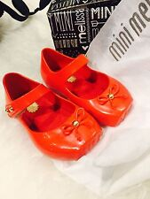 NEW Mini Melissa Girls' Mary Jane Flats Toddler 31465 BALLET SP BB GIFT RED 5-10