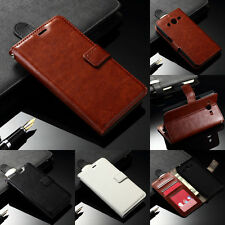 Luxury PU Leather Wallet Card Holder Cover Case For Samsung Galaxy J1 Ace J2 J3