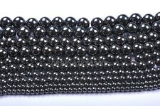 Wholesale Lots Natural Magnetic Hematite Spacer Beads 4-12mm Jewelry Findings