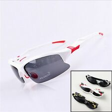 Polarized Cycling Bicycle Goggles Glasses Fishing Driving Sport Sunglass Eyewear