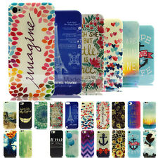 Hot YX Design Thin Soft TPU Case Cover For Apple iPhone 6S Plus 5S/5C 4S Touch 6