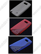 Multi Color S-Types TPU Silicone CASE Cover For Nokia 630