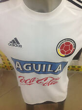 SELECCION COLOMBIA NATIONAL TEAM JERSEY FCS WHITE JERSEY ADIDAS S16146 JAMES 10