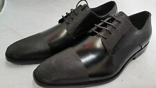 AUTH Kenneth Cole New York Mens Clip Art Lace up Shoe-BLACK (kc 29146)