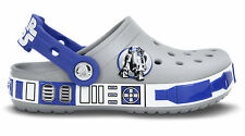 New Crocs Crocband Star Wars R2D2 Clog Glow Dark 4/5 6/7 8/9 10/11 12/13 1 2 3