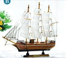 Wooden Ship Model Pirate Sailing Boats  Perfect Gifts Decor