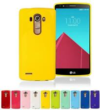 Ultra-thin Durable Smooth Silicone Rubber Soft Skin Cover Case for LG G3 LG G4
