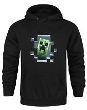 Official Minecraft Creeper Inside Men's Hoodie