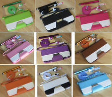 """Multi Color PU Leather Wallet Stand Flip Pouch Case Cover For iPhone 6 4.7"""""""