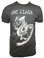 AMPLIFIED Vintage THE CLASH Tattoo China Dragon Rock Star T-Shirt g.S to XXL