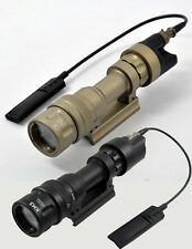 Tactical Light M952V Flashlight Dual Output LED Weaponlight For Airsoft(BK/DE)