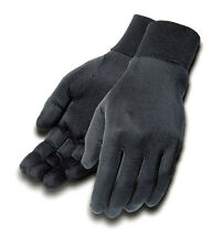 TOURMASTER Silk Motorcycle Glove Liners (Black) Choose Size