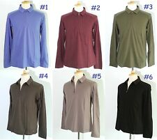 *NEW Patagonia 100% Merino Wool 1/4 Zip Polo Shirt Long-Sleeve Men's Top Size M