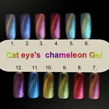 Gellen Gel Polish Magnetic Chameleon Color Changing UV Led Nail Varnish 10 ml