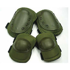 Tactical Military US Army Paintball Sport Protective Gear Knee & Elbow Pads New
