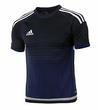 Adidas Youth Adizero Soccer Camp 15 Jersey S/S Blue Shirts Junior Team S15906