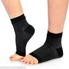 New Ankle Compression FOOT ANGEL Sleeve Arch Heel Pain Relief Support Men Womens