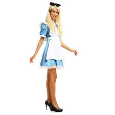 Alice in Wonderland Anime Cosplay Costume Lolita Dress Hen Night Maid Outfit