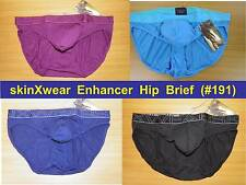 skinXwear #191 PUSH-UP Enhancer Hip Brief ~Special Engineered Pouch ~many color