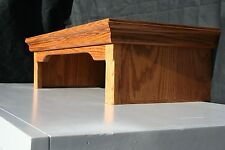 Oak TV Riser Stands Traditional Style Oak Wood Made in the USA