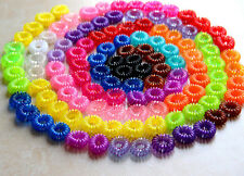 10PCS Colorful Women Girls Elastic Rubber Hair Ties Band Rope Ponytail Holder CI