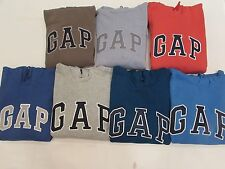 NEW MEN'S GAP L/S HOODIE PULLOVER SWEATSHIRT, PICK A SIZE AND COLOR