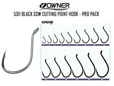 OWNER 5311 Black SSW Cutting Point HOOK ProPack -PICK YOUR SIZE--FREE SHIP