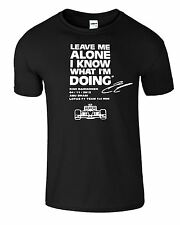 LEAVE ME ALONE I KNOW WHAT I'M DOING Kids TShirt LOTUS KIMI RAIKKONEN Race