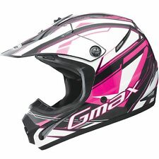GMax GM46.2 Traxxion Girls Motocross Dirt Bike Off Road Helmets