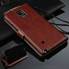 Wallet For Samsung Galaxy Classic Magnetic Card Slots Flip Leather Case Cover