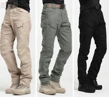 Tactic Military Mens Casual Trousers New Pants Army Camo Cotton Cargo Trousers