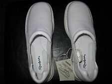 ROCKERS BY CHEROKEE DIAMOND ALL DAY COMFORT,LEATHER UPPER,SIZE 10M,WHITE,NO BOX