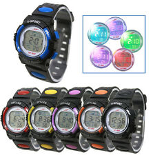 Girl Boy LED Light Wrist Watch Alarm Date Digital Multifunction Sport Watches