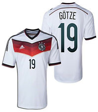 ADIDAS GERMANY MARIO GOTZE HOME JERSEY FIFA WORLD CUP BRAZIL 2014