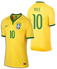 NIKE PELE BRAZIL AUTHENTIC PLAYERS HOME JERSEY FIFA WORLD CUP BRASIL 2014.