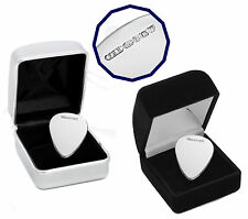 Personalised 925 Sterling Silver Guitar Plectrum Pick Engraved Gift