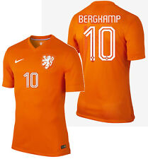 NIKE D. BERGKAMP NETHERLANDS AUTHENTIC HOME JERSEY WORLD CUP BRAZIL 2014 HOLLAND