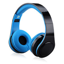 EXCELVAN Folding Wireless Bluetooth LED Stereo Headphones Classic Headsets New