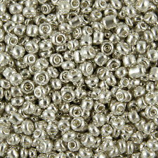 30g Gold/Silver Metallic Coloured Seed Beads 11/0 2mm