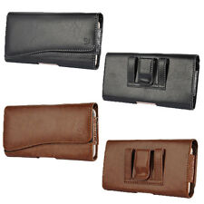 Leather Pouch Holster Belt Clip Carrying Case For iPhone 6/6S Plus/LG G FLEX/ZTE