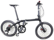 "Folding Bike Road Bicycle 20"" Shimano 10 Speed Disc Brake only 10.18kg full bike"