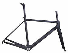 Carbon Road Bike UD Matt Road Bicycle racing BSA Frameset Fork BSA Internl Di2